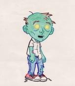 Little Boy Zombie